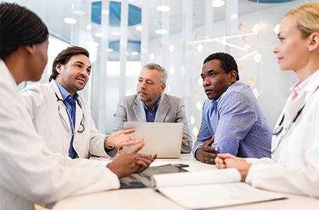 image-meeting at hospital